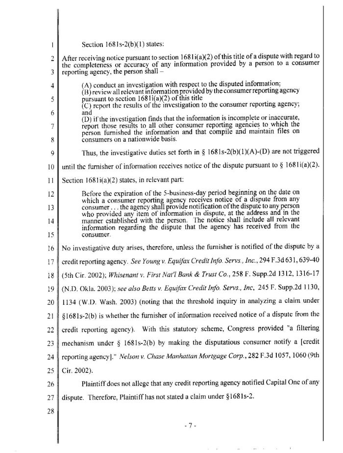 4/20/05 - Court order re. Ameriquest and Capital One p. 7
